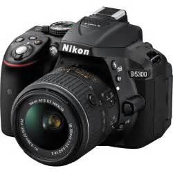 Nikon D5300 DSLR Camera with 18-55mm Lens (Black) 1522 B&H ...