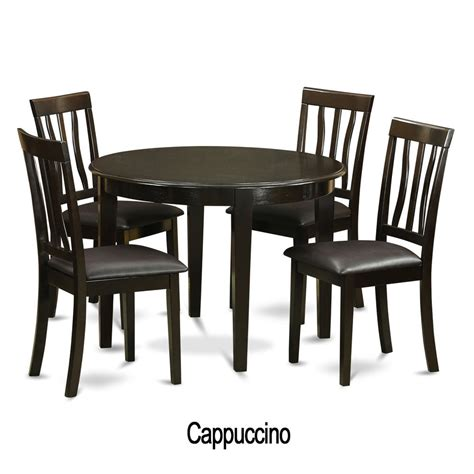 5 piece small kitchen table and 4 kitchen chairs ebay