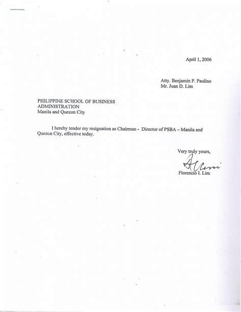 standard letters  resignation sangabcafecom