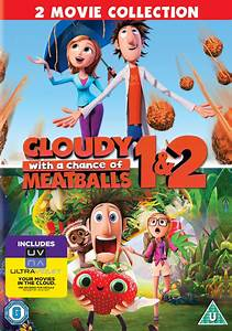 Cloudy, With, A, Chance, Of, Meatballs, 1, And, 2, Includes