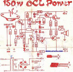 2n3055 Mj2955 Audio Amplifier Circuit