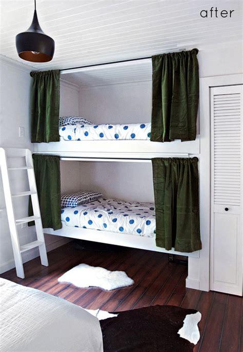 Bunk Bed Drapes - an ode to bunk beds 10 exles we design sponge