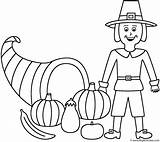 Coloring Horn Plenty Thanksgiving Pilgrim Fall Horns Autumn Pages Activity Teens Template Bigactivities Printable Happy Templates Trending Days Last sketch template