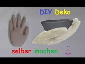 Hand Skulptur Selber Machen : diy deko hand aus beton oder gips mit latexhandschuh selber machen betonhand gipshand ~ Frokenaadalensverden.com Haus und Dekorationen
