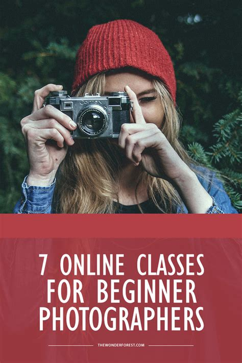 7 Online Photography Classes For Beginners  Wonder Forest