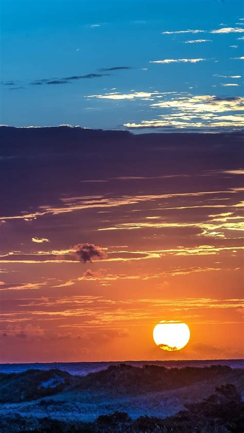 See more ideas about aesthetic wallpapers, wallpaper, aesthetic iphone wallpaper. Clouds-Over-The-Sun-Sunset-iPhone-Wallpaper - iPhone Wallpapers