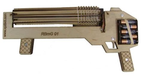 fully automatic elastic weapons rubber band machine gun