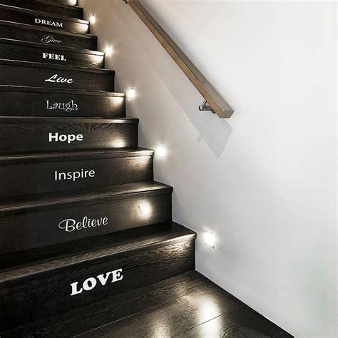 Spot Escalier Hauteur by Inspirational Staircase Vinyl Sticker Set Holycool Net
