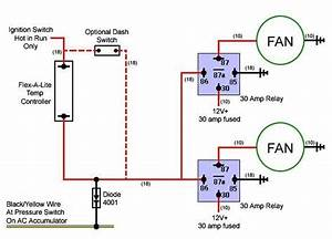 Electric Fan Relay Wiring Diagram