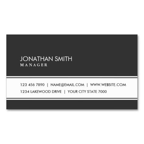 professional black out business card template professional plain simple black and white business