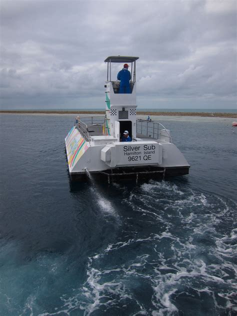 Glass Bottom Boat Whitsunday Islands by Reefworld Great Barrier Reef Adventure Sydney