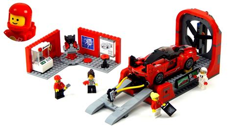 The sticker are not part of the building instructions ! Lego Speed Champions 75882 Ferrari FXX K & Development ...
