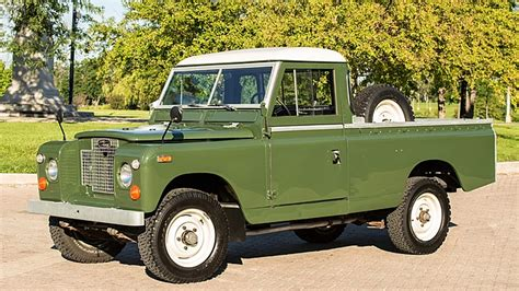 land rover pickup truck 1966 land rover series iia 109 pickup 2 25l 4 speed
