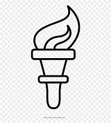 Torch Antorcha Coloring Dibujo Colorear Clipart Pinclipart Torcia Colorare Disegni Liberty Statue Drawing Draw Cartoon Netclipart Stampare Ultra sketch template