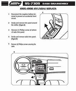 1996 Hyundai Sonata Installation Parts  Harness  Wires