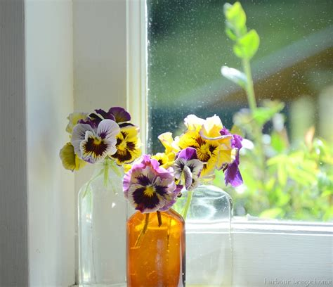 Flowers For Windowsill summer house tour harbour home