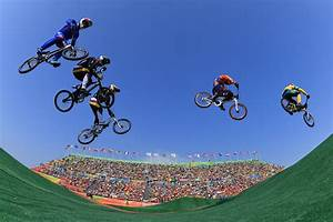 Aussies survive Olympic BMX carnage to ease into semi ...