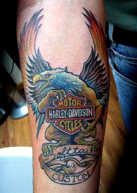 Harley Davidson Tattoos Designs, Ideas And Meaning