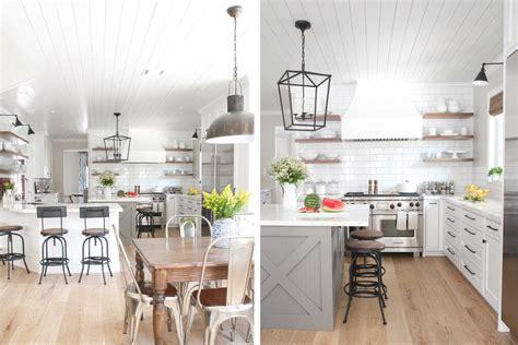 farmhouse kitchen cabinets gorgeous modern farmhouse kitchens Modern