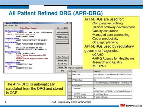apr drg patient refined coding quality compliance monitoring editor data drgs assurance ppt powerpoint presentation clinical