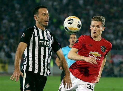 Partizan vs Manchester United: Ole Gunnar Solskjaer ...