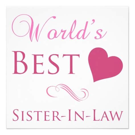 Sister In Laws Quotes