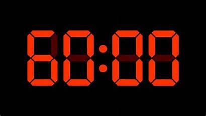 Digital Clock Hour Countdown 60 Numbers Timer