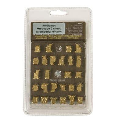 hotstamps alphabet set lowercase walnut hollow craft