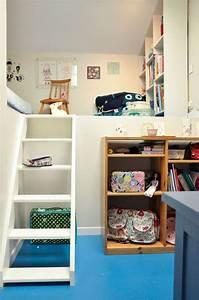 Aménagement Petite Chambre Ado : petite chambre enfant sous combles c t maison ~ Teatrodelosmanantiales.com Idées de Décoration