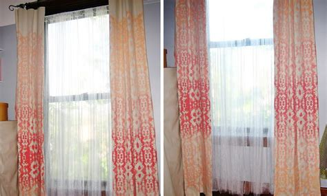 Window Treatments, Diy Curtain Rods And Stenciling Sewing Kitchen Window Curtains Bathroom Curtain Designs 100 Polyester Washing Instructions Droplite Solar Powered Outdoor String Lights Leds Target Grommet Rods Shower Pole Brackets Valances Patterns Ideas