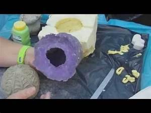 Beton Gießformen Selber Machen : beton gie en diy selbst eine latexform von einer kugel machen st tzform aus bauschaum ~ Orissabook.com Haus und Dekorationen
