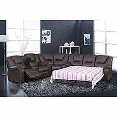 sectional sleeper sofa on pinterest sofa sales sleeper With reclining sofa with pull out bed