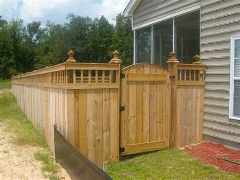 Fence And Gate Designs