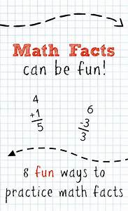 Math Facts~Math Strategies for Kids - Fantastic Fun & Learning
