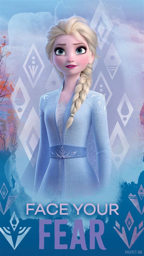 Selena gomez kristen bell evan rachel wood and idina. Frozen 2 - Elsa Phone Wallpaper - Disney's Frozen 2 Photo ...