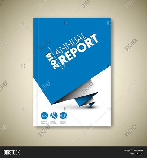 Modern Blue Brochure Design Vector Photo Bigstock Modern Vector Abstract White Vector Photo Bigstock