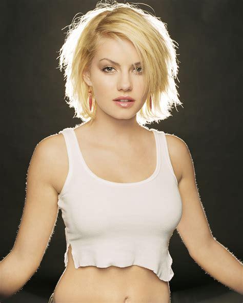 Elisha Cuthbert Women Actress Blonde Tank Top