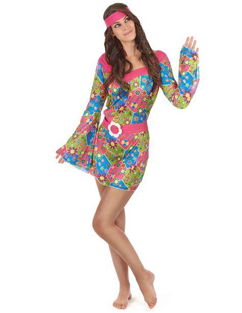 hippie bloemen mooi hippie verkleedpak voor