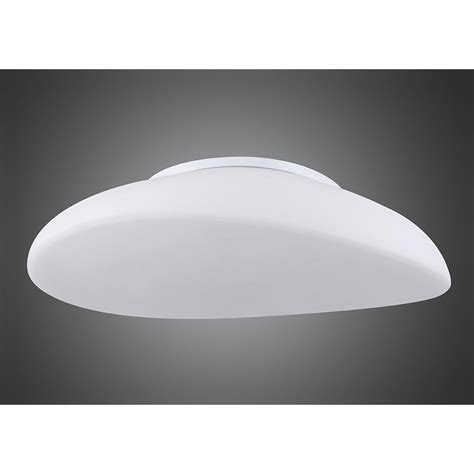 mantra m4895 opal ceiling 4 light frosted white glass