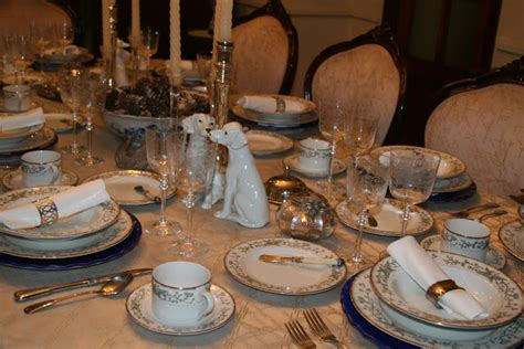 Fabby's Living Fabby A January 2013 Winter Tablescape