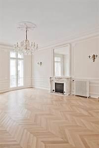 architecte interieur benny benlolo renovation d39un With parquet haussmannien
