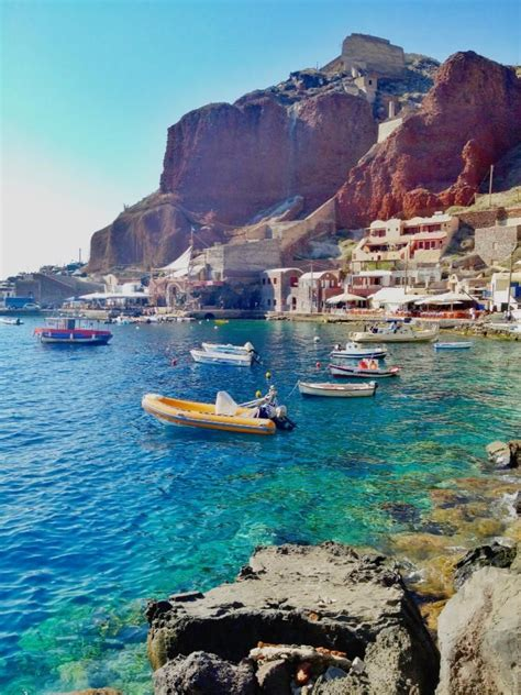 Santorini Greece Places I Want To See Pinterest