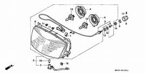 St1100 Parts Fiche - Headlight