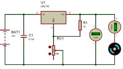 lm317 voltage regulator pinout features equivalent datasheet