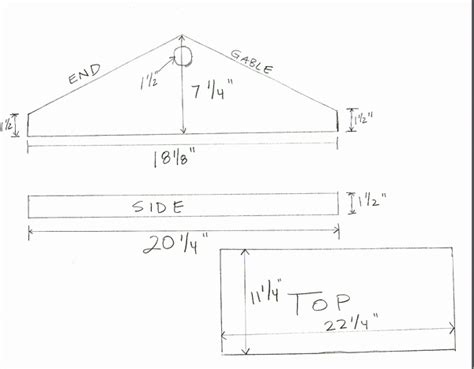 gable roof plans the best ventilated gabled roof honey bee suite
