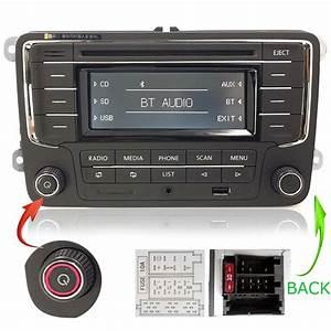 Vw Autoradio Rcn210 Con Bluetooth Cd Sd Usb Aux Golf