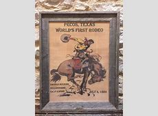 Framed Rodeo Posters – Blue Star Trading