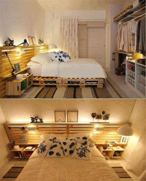 récup palettes 34 chambres à coucher la tête de lit