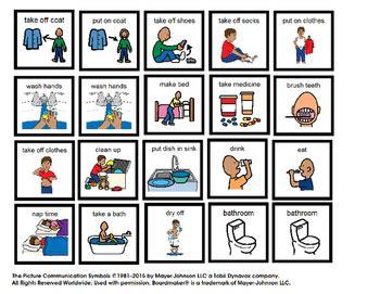 visual schedule  boy  home autism  successful