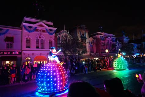 light parade disneyland disneyland paint the parade premieres for 60th
